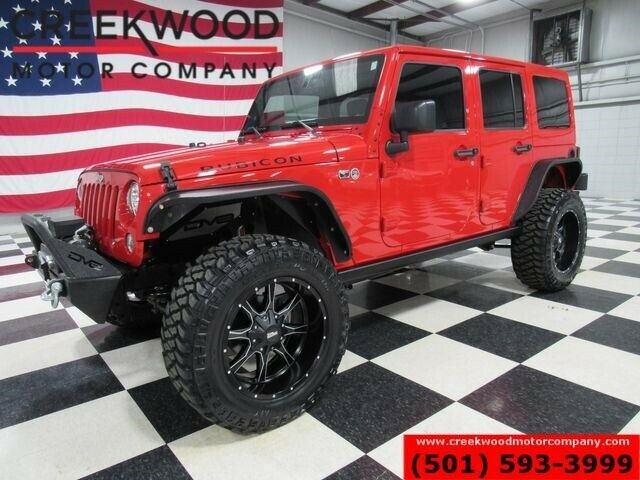 1C4BJWFG2HL624454-2017-jeep-rubicon-4x4-auto-lifted-red-nav-20s-new-tires-0